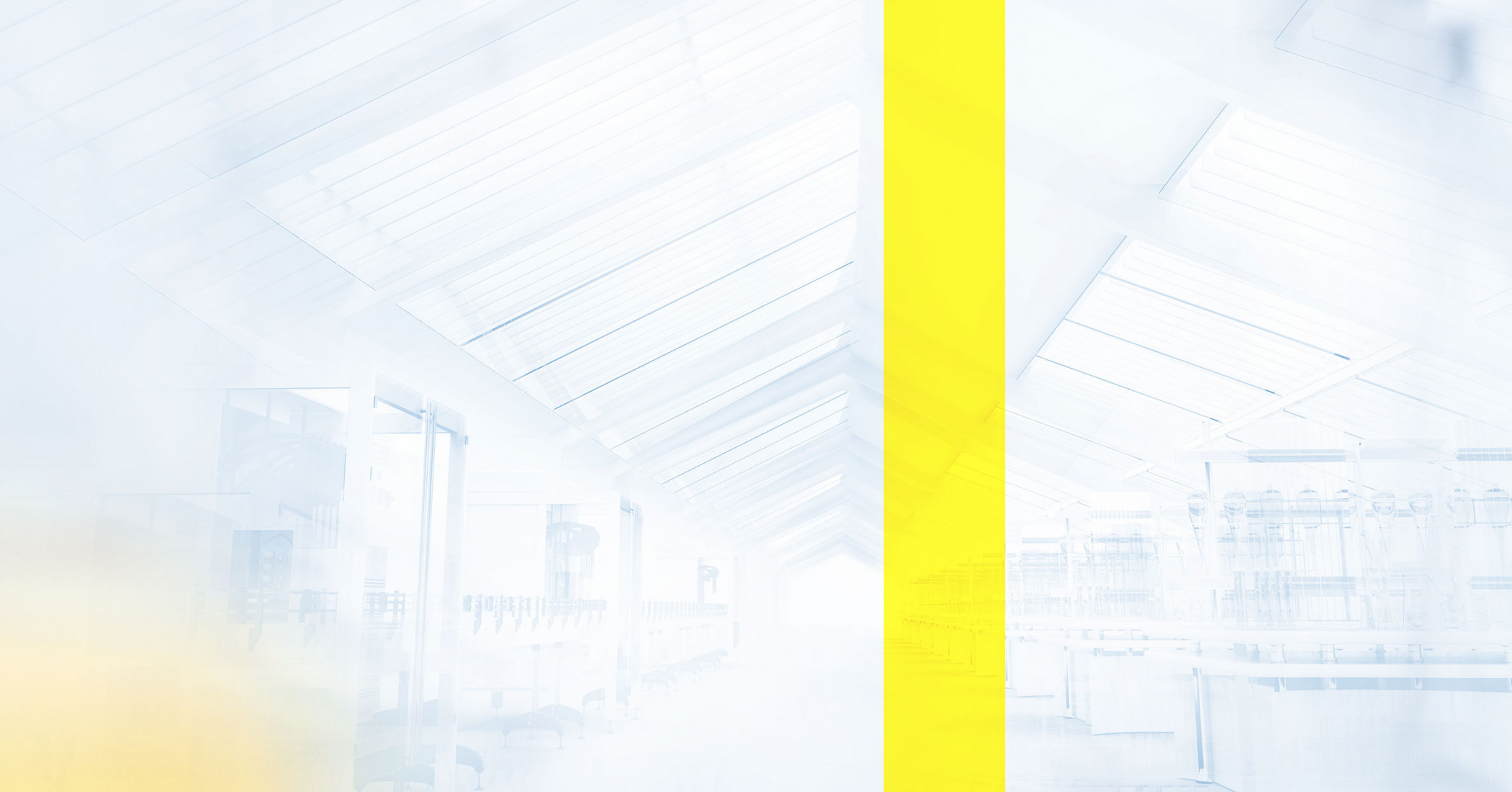 Poly-clip industry space with yellow line