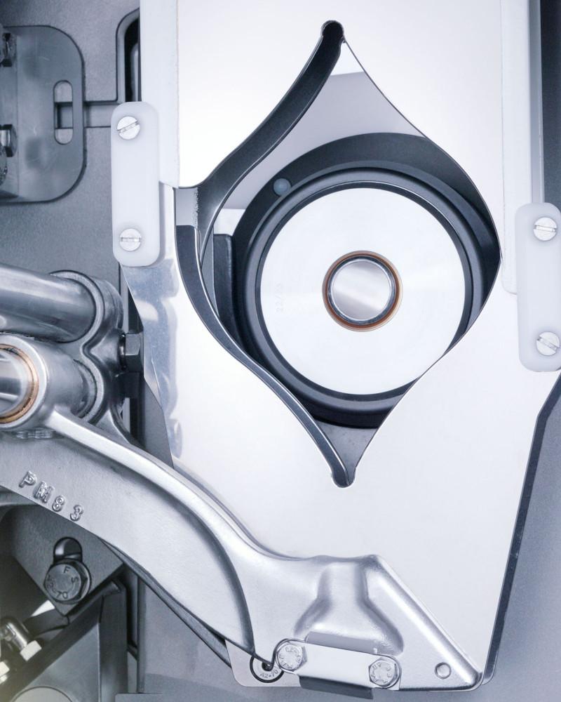 Poly-clip System Doppelclipper FCA 160 Detail Verdraenger