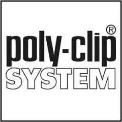 Poly-clip System Logo