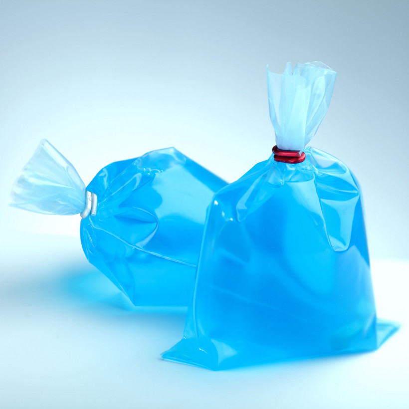 Bagged soap