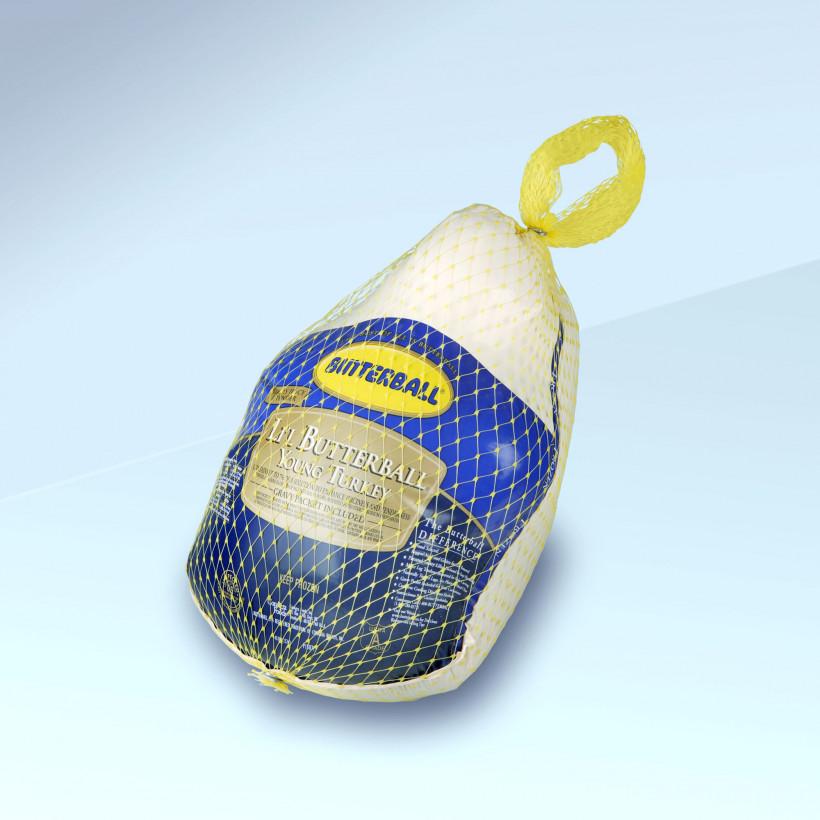 Turkey bagged