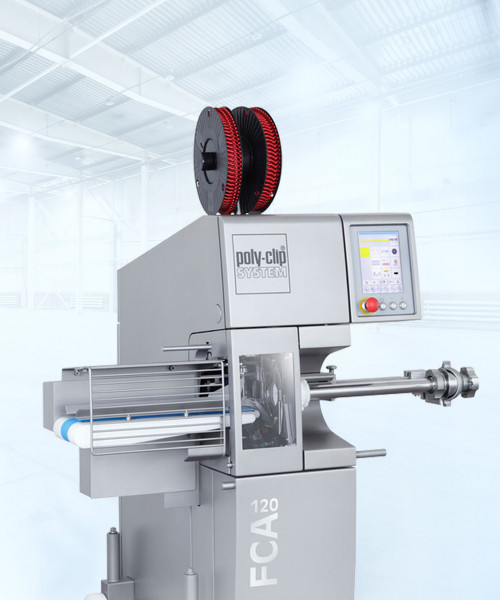 poly clipping machine fca 120